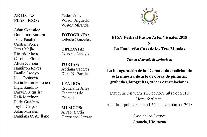 Invitación XV festival fusión artes visuales 2018.jpg